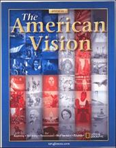 The American Vision - Appleby, Joyce / Brinkley, Alan / Broussard, Albert S.