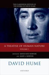 A Treatise of Human Nature, Volume 1: Texts: A Critical Edition - Hume, David / Norton, David Fate / Norton, Mary J.
