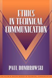 Ethics in Technical Communication (Part of the Allyn & Bacon Series in Technical Communication) - Donbrowski, Paul M. / Dombrowski, P. M. / Dombrowski, Paul M.