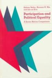 Participation and Political Equality: A Seven-Nation Comparison - Verba, Sidney / Nie, Norman H. / Kim, Jae-On
