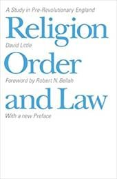 Religion, Order, and Law - Little, David / Bellah, Robert N.