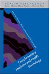 Complementary Medicine and Health Psychology - Van Wersch, Anna / Forshaw, Mark / Cartwright, Tina