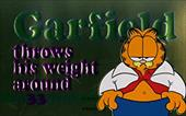 Garfield Throws His Weight Around - Davis, Jim