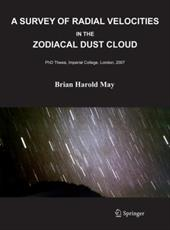 A Survey of Radial Velocities in the Zodiacal Dust Cloud - May, Brian
