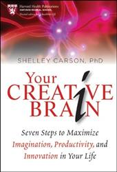 Your Creative Brain: Seven Steps to Maximize Imagination, Productivity, and Innovation in Your Life - Carson, Shelley