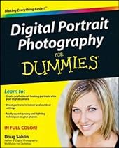 Digital Portrait Photography for Dummies - Sahlin, Doug