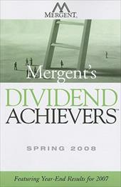 Mergent's Dividend Achievers: Featuring Year-End Results for 2007 - John Wiley & Sons Inc