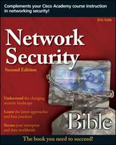 Network Security Bible - Cole, Eric / Krutz, Ronald L. / Conley, James W.