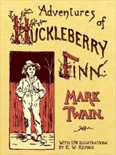 Adventures of Huckleberry Finn - Twain, Mark / Kemble, E. W.