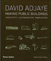 David Adjaye: Making Public Buildings: Customization Imbrication Specificity - Allison, Peter