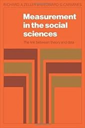 Measurement in the Social Sciences: The Link Between Theory and Data - Zeller, Richard A. / Zeller / Carmines, Edward G.