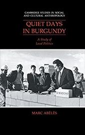 Quiet Days in Burgundy - Abeles, Marc / McDermott, Annella
