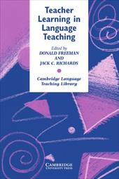 Teacher Learning in Language Teaching - Freeman, Donlad A. / Freeman, Donald A. / Swan, Michael