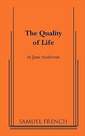 The Quality of Life - Anderson, Jane