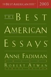 The Best American Essays - Fadiman, Anne / Atwan, Robert