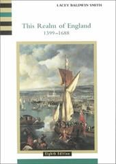 This Realm of England, Volume 2 - Smith, Lacey Baldwin / Baldwin Smith, Lacey (Lacey Baldwin Smith)