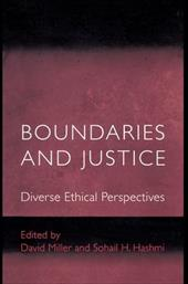 Boundaries and Justice: Diverse Ethical Perspectives - Miller, David / Hashmi, Sohail H.