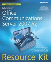 Microsoft(r) Office Communications Server 2007 R2 Resource Kit - Maximo, Rui / Kingslan, Rick / Ramanathan, Rajesh