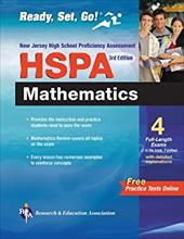 NJ Hspa Math with Bonus Online Tests 3rd Ed - Friedman, Mel