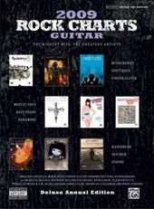 Rock Charts Guitar: The Biggest Hits, the Greatest Artists: Deluxe Annual Edition - Alfred Publishing