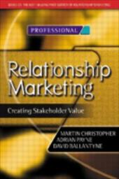 Relationship Marketing - Christopher, Martin / Clark, Moira / Payne, Adrian