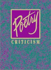 Poetry Crit V30 - McGeagh, Ellen