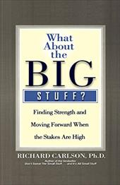 What about the Big Stuff?: Finding Strength and Moving Forward When the Stakes Are High - Carlson, Richard