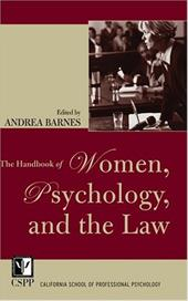 The Handbook of Women, Psychology, and the Law - Barnes, Andrea