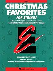 Christmas Favorites - Viola Essential Elements for Strings - Various