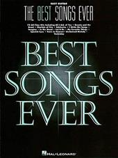 The Best Songs Ever, Easy Guitar - Hal Leonard Publishing Corporation