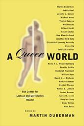 A Queer World: The Center for Lesbian and Gay Studies Reader - Thatcher, Adrian / Duberman, Martin