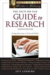 The Facts on File Guide to Research - Lenburg, Jeff