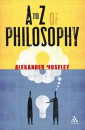 To Z of Philosophy - Moseley, Alexander