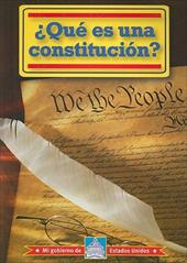 Que Es una Constitucion? = What Is a Constitution? - Thomas, William David