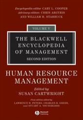 Human Resource Management - Cartwright, Susan