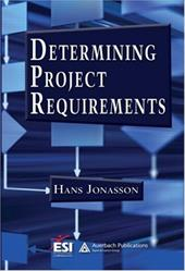 Determining Project Requirements - Jonasson, Hans