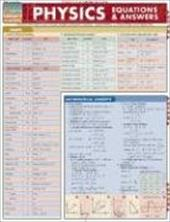Physics Equations & Answers Laminate Reference Chart - Jackson, Mark