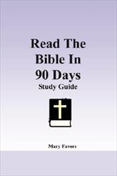 Read the Bible in 90 Days - Favors, Mary