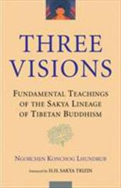 The Three Visions: Fundamental Teachings of the Sakya Lineage of Tibetan Buddhism - Lhundrub, Ngorchen Konchog / Lhundrub Ngorchenk / Dagpa, Lobsang