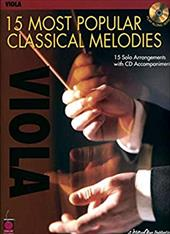 Viola: 15 Most Popular Classical Melodies [With CD] - Cherry Lane Music