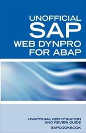 SAP Web Dynpro for ABAP Interview Questions: WD-ABAP Interview Questions, Answers, and Explanations: Unoffical Web Dynpro for ABAP - Clark, Terry / Sapcookbook / Equity Press, Press