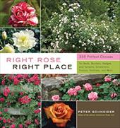 Right Rose, Right Place: 359 Perfect Choices for Beds, Borders, Hedges and Screens, Containers, Fences, Trellises, and More - Schneider, Peter