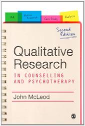 Qualitative Research in Counselling and Psychotherapy - McLeod, John