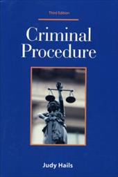 Criminal Procedure - Hails, Judy