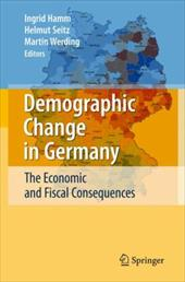 Demographic Change in Germany: The Economic and Fiscal Consequences - Hamm, Ingrid / Seitz, Helmut / Werding, Martin