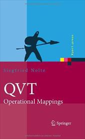 Qvt - Operational Mappings: Modellierung Mit Der Query Views Transformation - Nolte, Siegfried