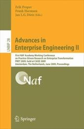 Advances in Enterprise Engineering II - Proper, Erik / Harmsen, Frank / Dietz, Jan L. G.