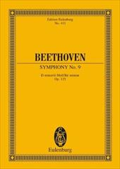 "Symphony No. 9 in D Minor, Op. 125 ""Choral"": Edition Eulenburg No. 411 - Beethoven, Ludwig Van"