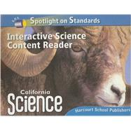 Harcourt School Publishers ScienceCalifornia; Interactive Science Cnt Reader Reader Student Edition Science 08 Grade 5 - HSP