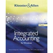 Integrated Accounting for Windows (with Integrated Accounting Software CD-ROM) - Klooster, Dale A.; Allen, Warren